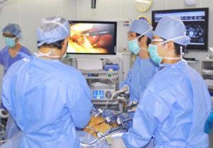 鼠径ヘルニア専門外来手術室