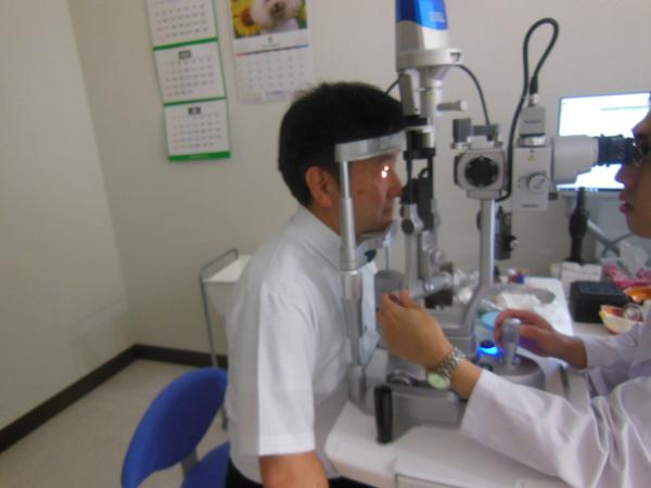 細隙灯(さいげきとう)顕微鏡検査